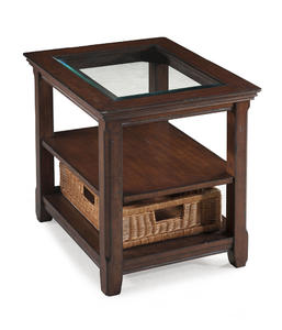 Tanner Rectangular End Table (Tobacco) - [T1297-03]