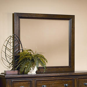 Timber Mill Landscape Mirror (Pine Finish) - [BB58-445]