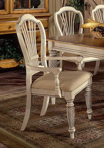 Wilshire Arm Chair - Set of 2 (Antique White Finish) - [4508-805]