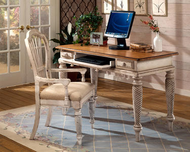 Wilshire Desk (Antique White) - [4508D]
