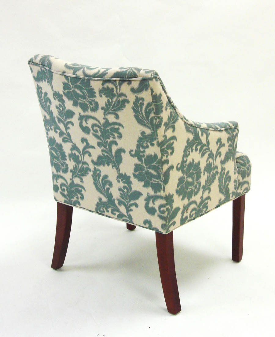 Accent Chair Ikat Slate [LC2988CLGR] Decor South