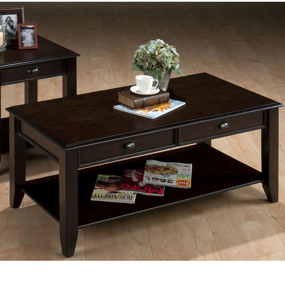 Bartley Oak Casual Cocktail Table 4591 Decor South