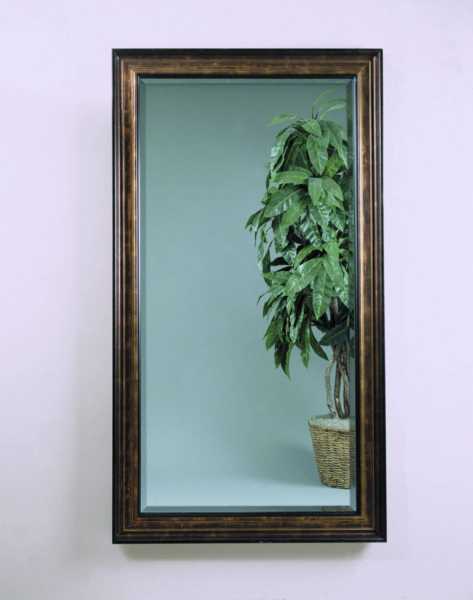 Beckett Leaner Mirror Antique Bronze Finish 63088 846 Decor South
