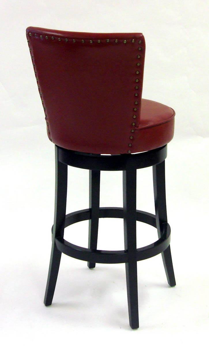 Boston Swivel Counter Stool Red Lc4044bare26 Decor