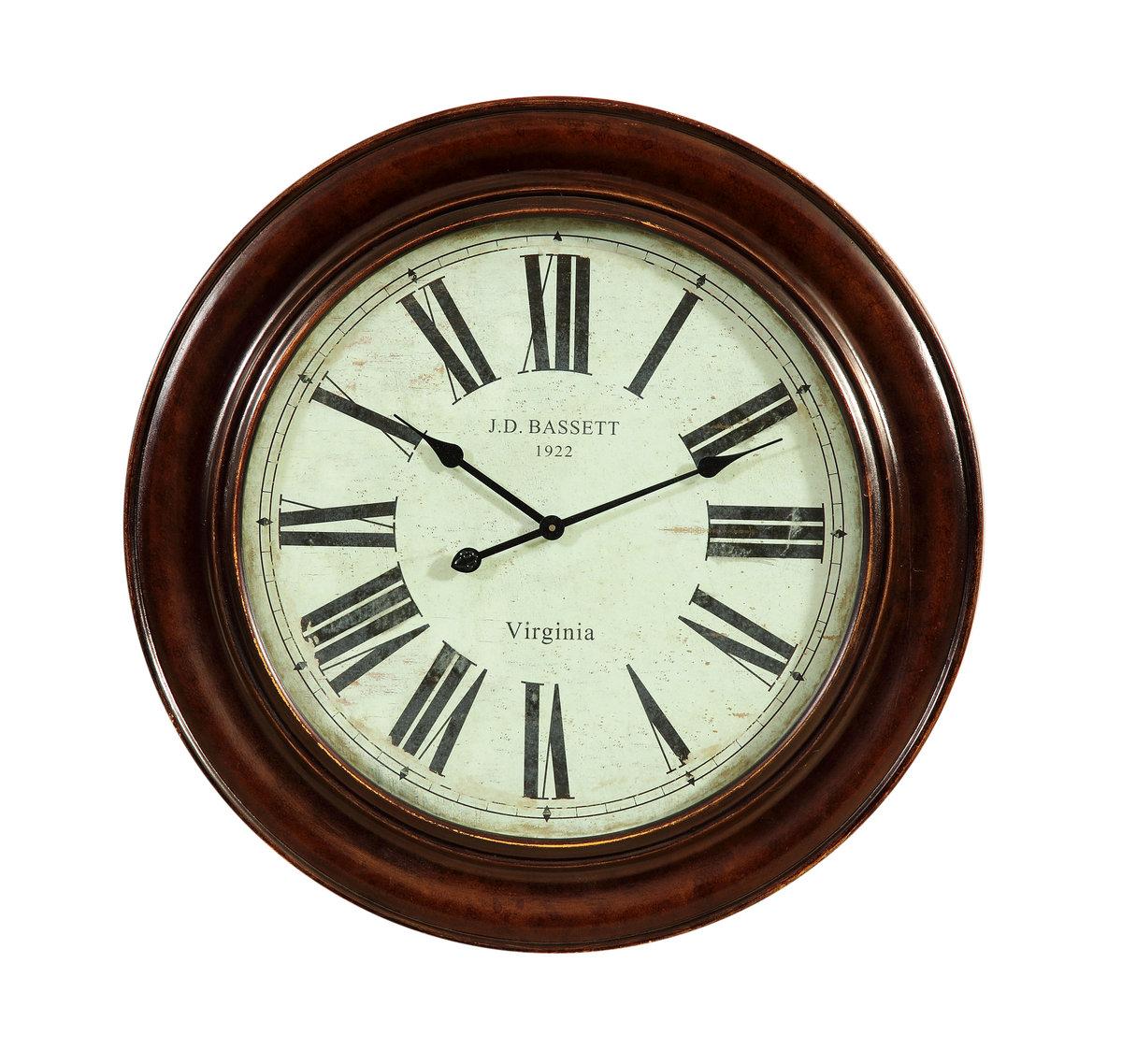 Brinkley Clock Antique Bronze Finish MC3300EC