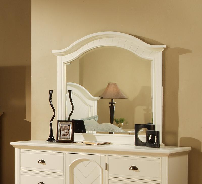 Brook Dresser Mirror (White Finish) - [BP700MRW] : Decor South