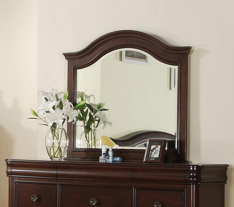Cameron Dresser Mirror (Dark Cherry Finish) - [CM750MR] : Decor South