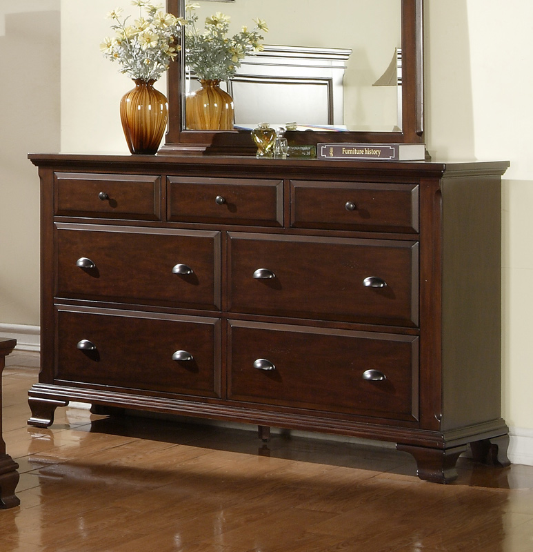 canton storage bedroom set cherry finish cn600qbset
