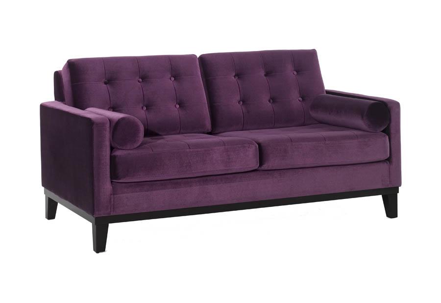 Super Centennial Loveseat Purple Velvet Fabric Lc7252Pu Decor South Lamtechconsult Wood Chair Design Ideas Lamtechconsultcom