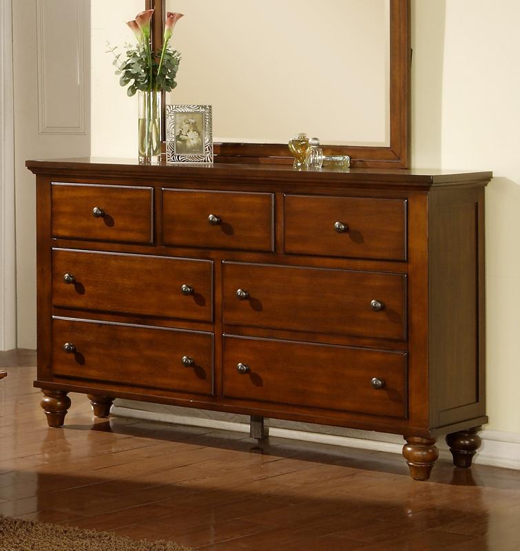 Chatham Dresser Walnut Finish Ch555dr