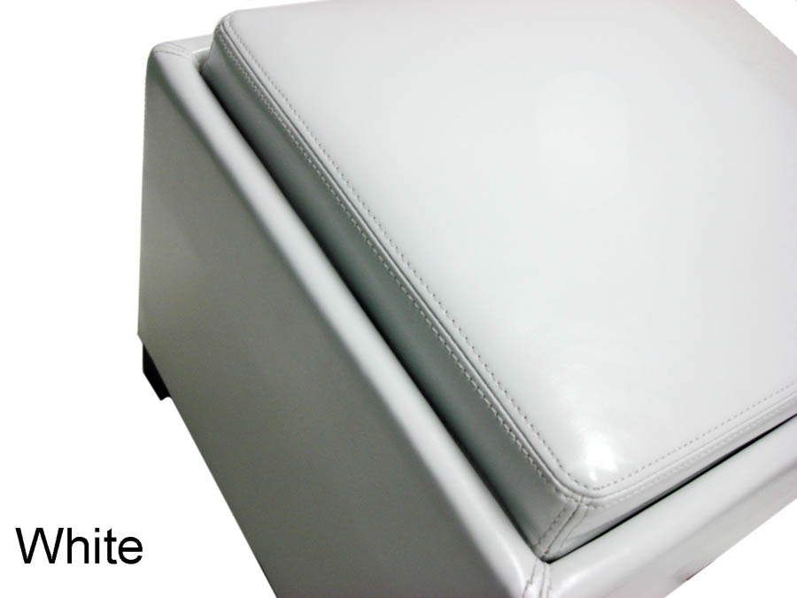 Contemporary Storage Ottoman with Tray (White) - [LC530OTLEWH] - Contemporary Storage Ottoman With Tray (White) - [LC530OTLEWH
