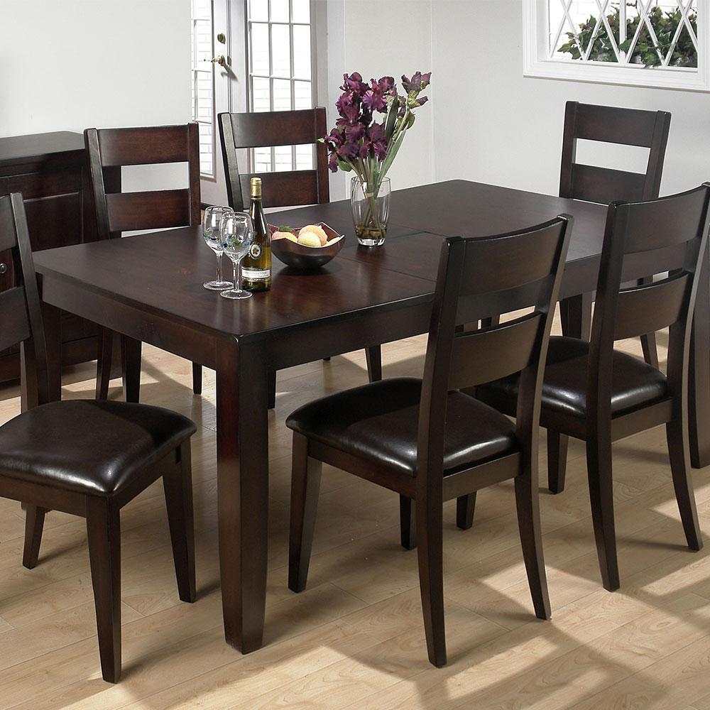 Dark Rustic Prairie Erfly Leaf Dining Table 972 77 Decor South