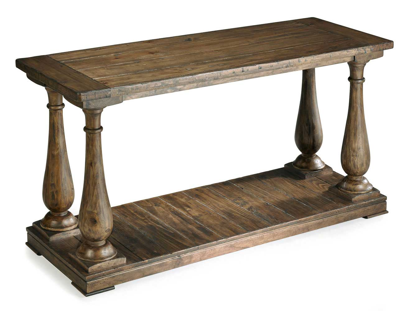 Sofa Console Table : Densbury Rectangular Sofa Table (Natural Pine) - [T1695-73] : Decor ...