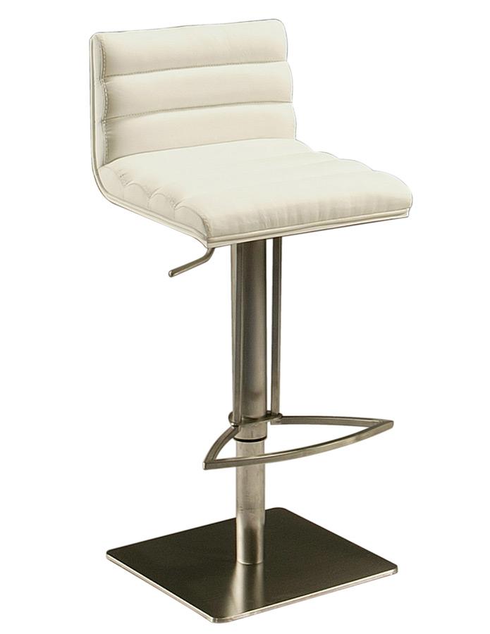 Dubai Hydraulic Bar Stool Stainless Steel White Veneer  : dubai hydraulic bar stool stainless steel white veneer ivory 1 from www.decorsouth.com size 695 x 900 jpeg 56kB