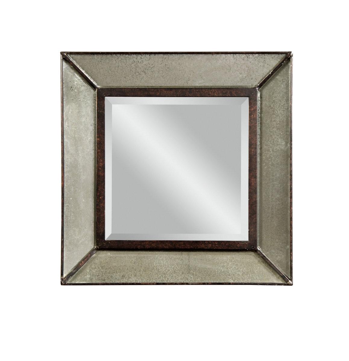 Edinborough Wall Mirror (Antique Mirror Finish ...