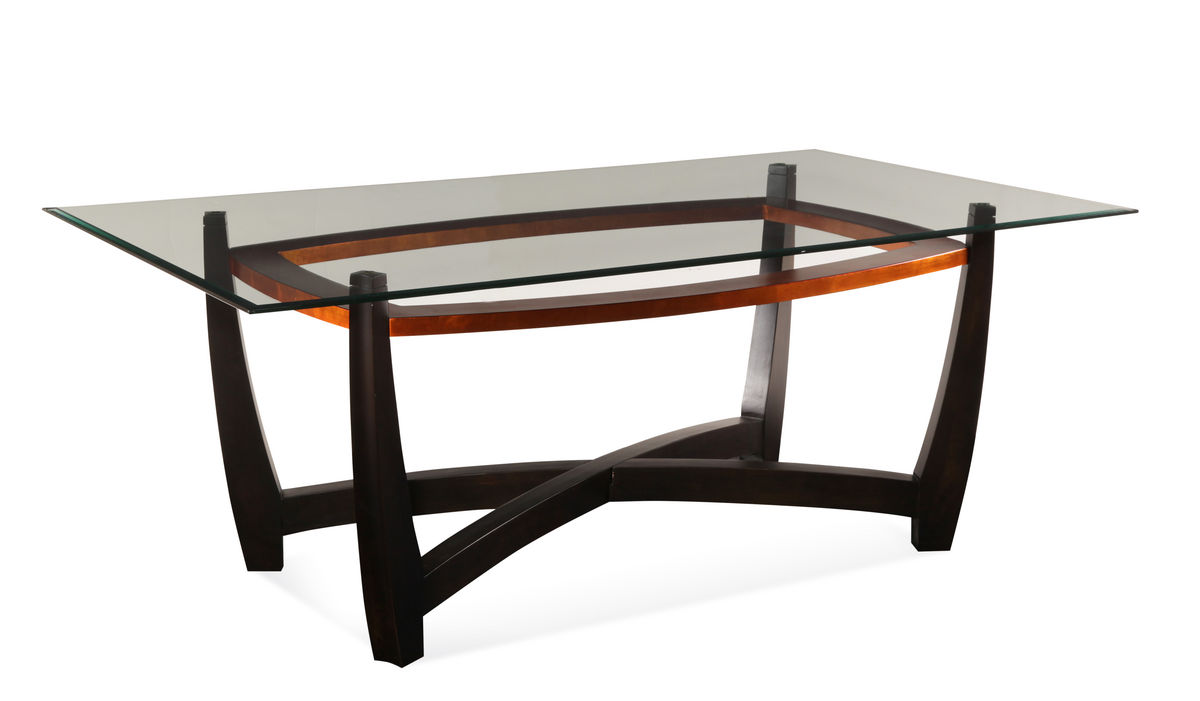 Dining table elation rectangular dining table for Rectangle dining table