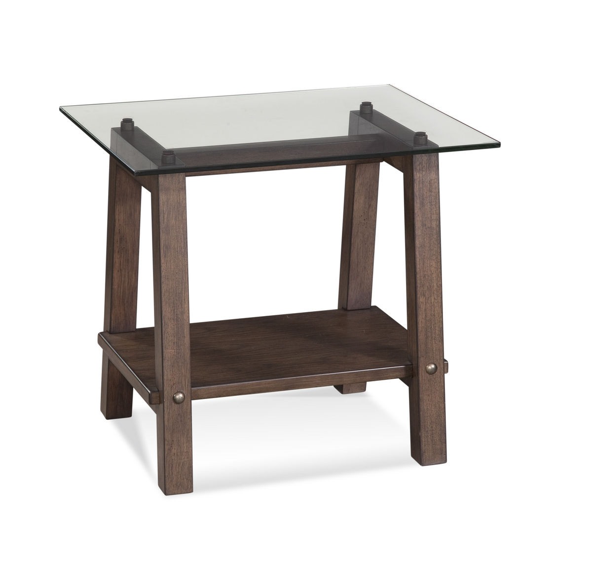 Ellsworth Rectangular End Table Espresso 2891 200b