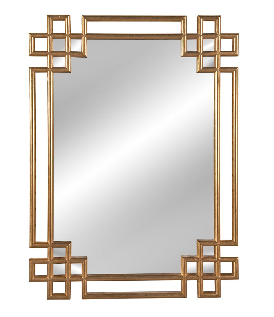 Frederick Wall Mirror Antique Gold Leaf 34 X 48h