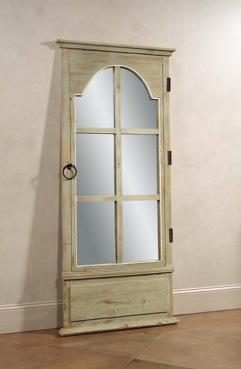 French Door Leaner Mirror Tarragon Finish M3272ec