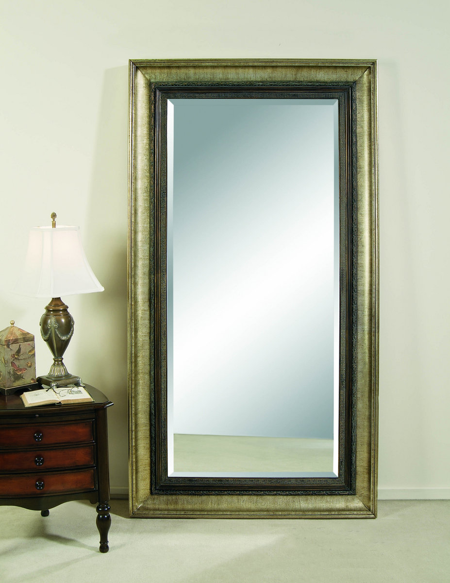 Fantastic Galindo Leaner Mirror (Antique Silver Finish) - [M2633BEC] : Decor  KM49