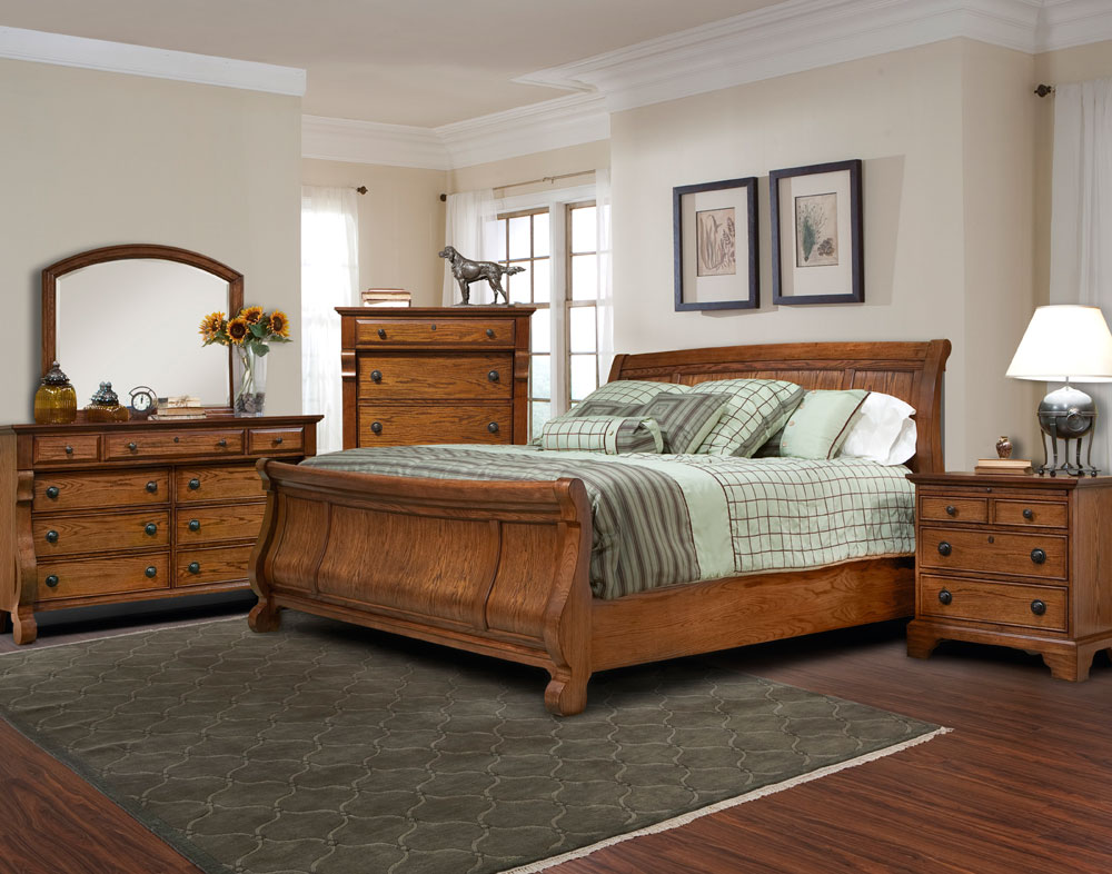 Sleigh bedroom sets crowdbuild for - Vintage bedroom set ...