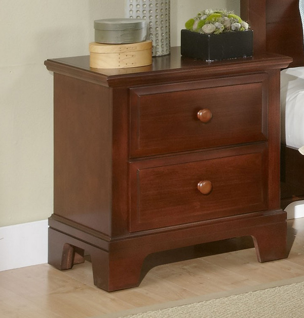 Hamilton Franklin Two Drawer Night Stand Cherry Finish BB5