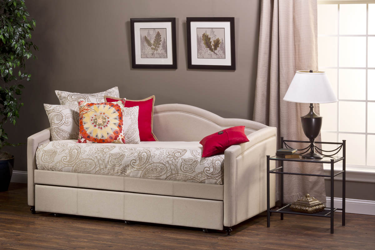 Jasmine Daybed Linen Stone Fabric 1119db Decor South