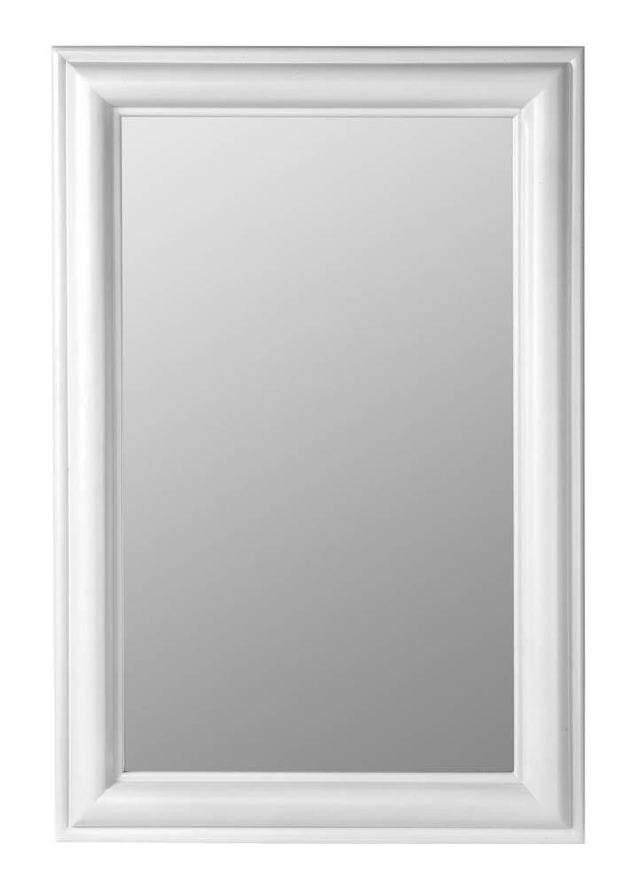 Julia Rectangle Mirror Chesapeake White 24 X 36