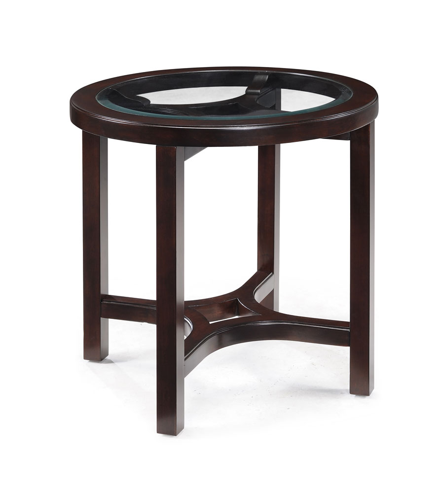Round End Table : Juniper Round End Table (Mink Brown) - [T1020-05] : Decor South