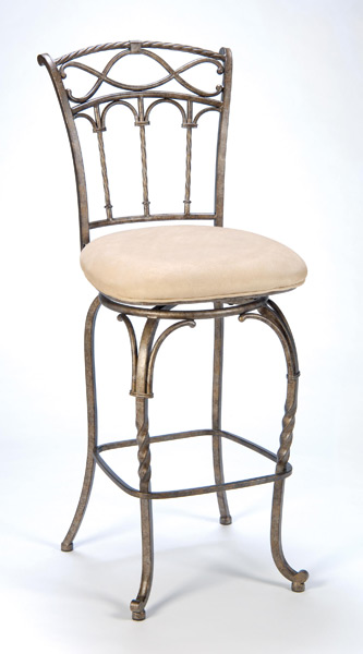 Kendall Bar Stool Pewter Amp Antique Bronze Finish 4708