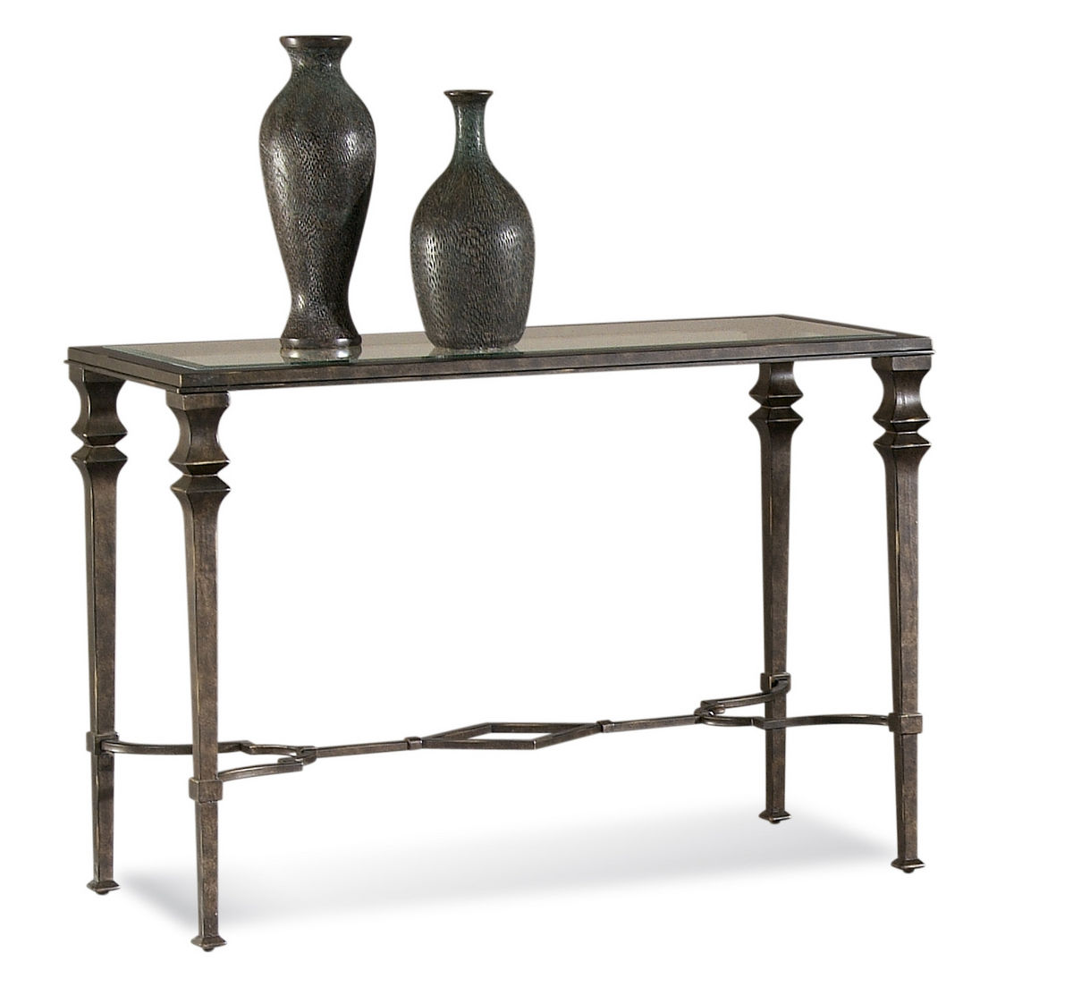 Lido Console Table Wrought Iron Finish T1210 400