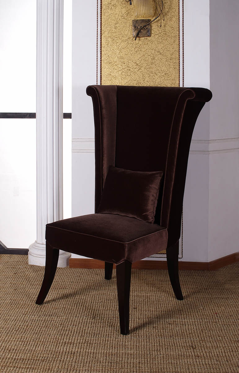 Superieur Mad Hatter Dining Chair (Brown)   [LC847SIBR]
