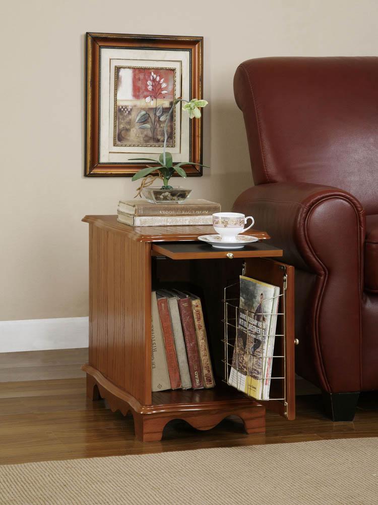 Magazine Cabinet Table Nostalgic Oak 843 Decor South
