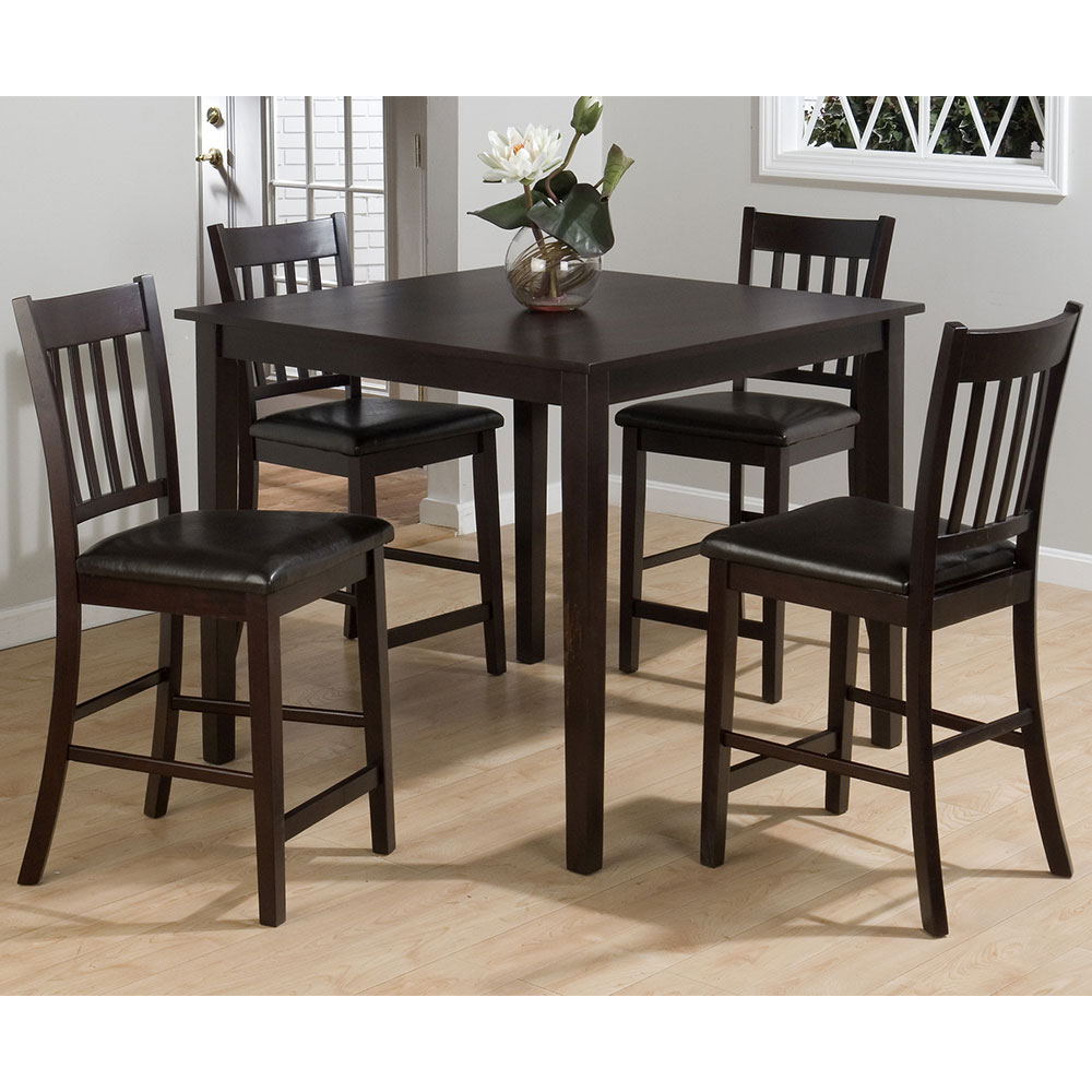 marin county merlot 5 piece counter height table counter