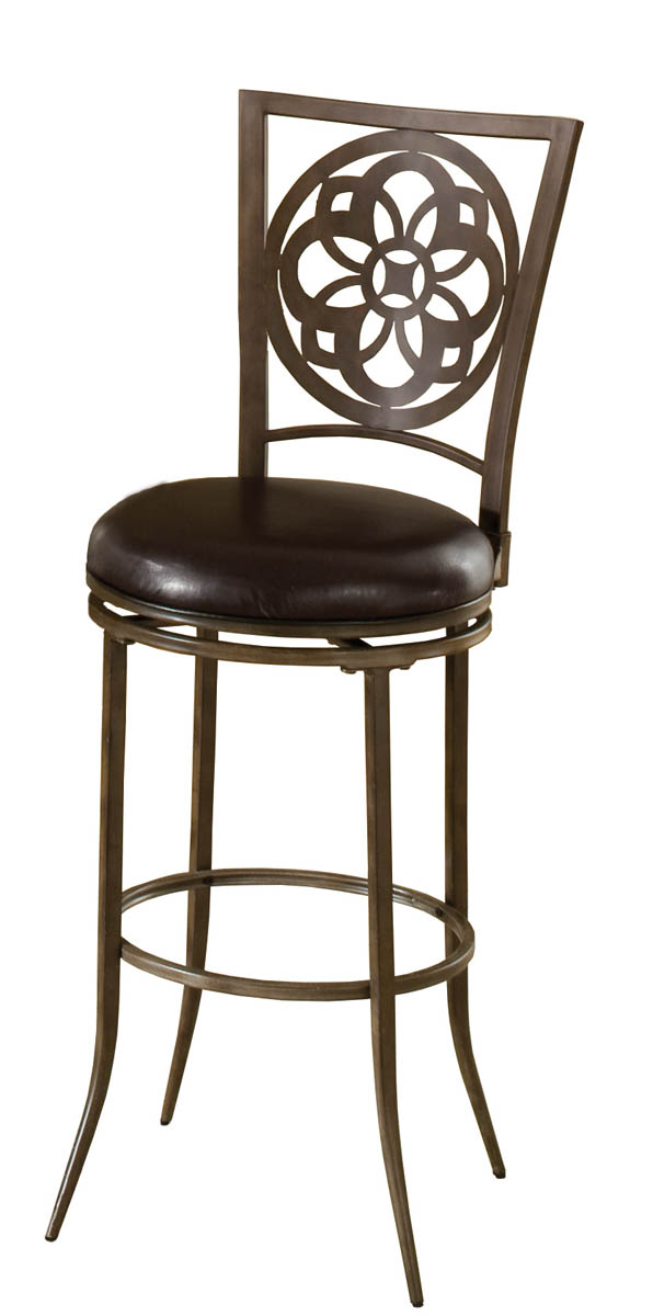 Marsala Swivel Bar Stool Gray amp Rust Highlights with  : marsala swivel bar stool gray rust highlights with black vinyl 1 from www.decorsouth.com size 596 x 1200 jpeg 87kB