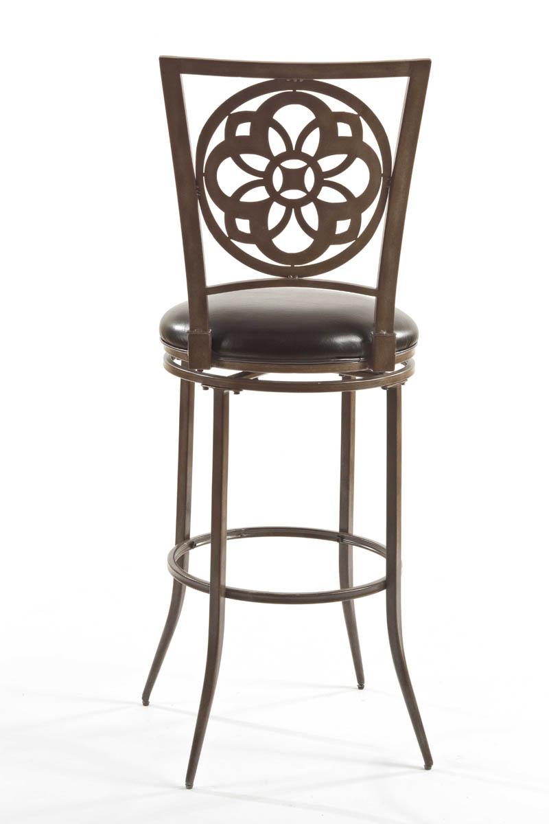 Marsala Swivel Bar Stool Gray amp Rust Highlights with  : marsala swivel bar stool gray rust highlights with black vinyl 2 from www.decorsouth.com size 800 x 1200 jpeg 92kB
