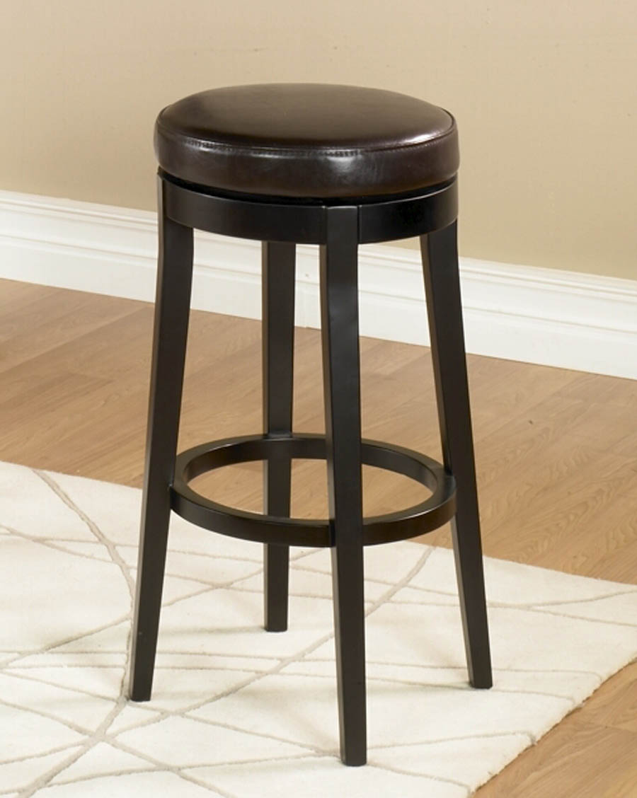 Brilliant Mbs 450 Backless Swivel Counter Stool Brown Lc450Babc26 Decor South Cjindustries Chair Design For Home Cjindustriesco