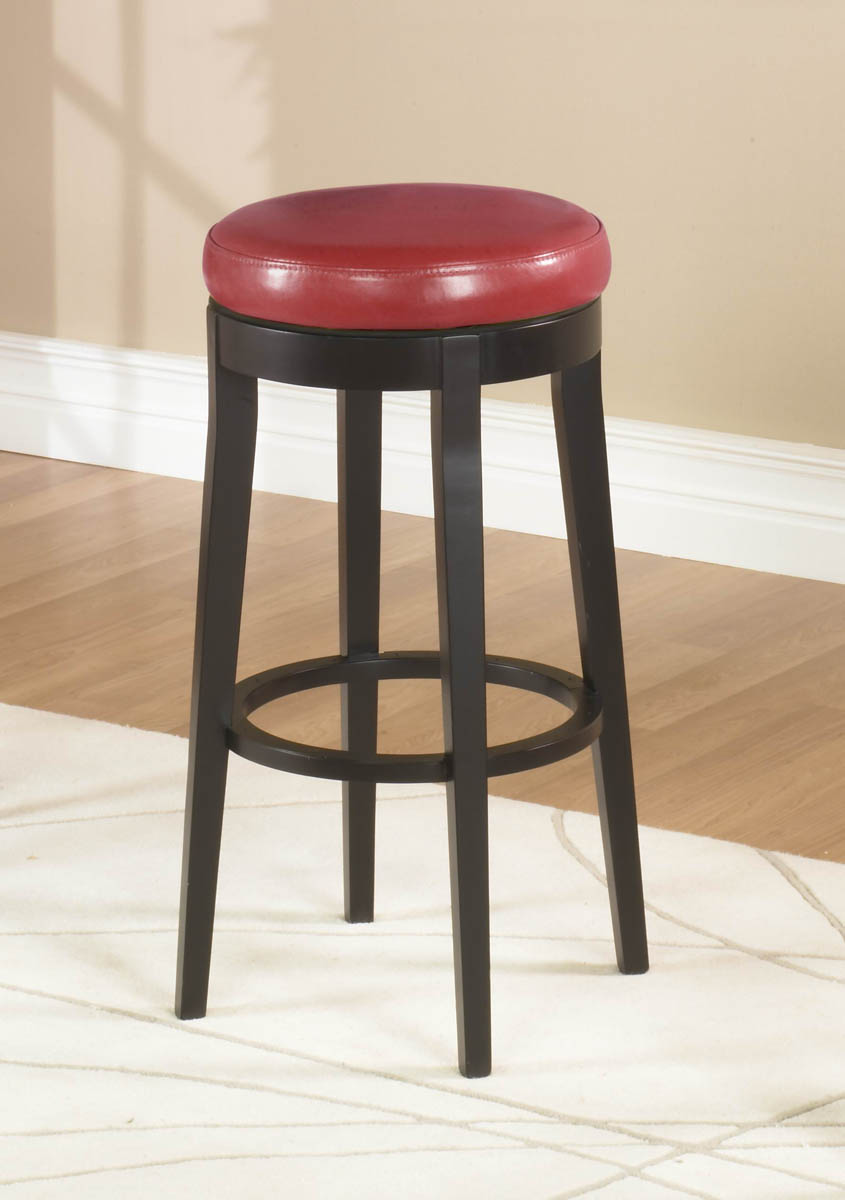 Mbs 450 Backless Swivel Counter Stool Red Lc450bare26