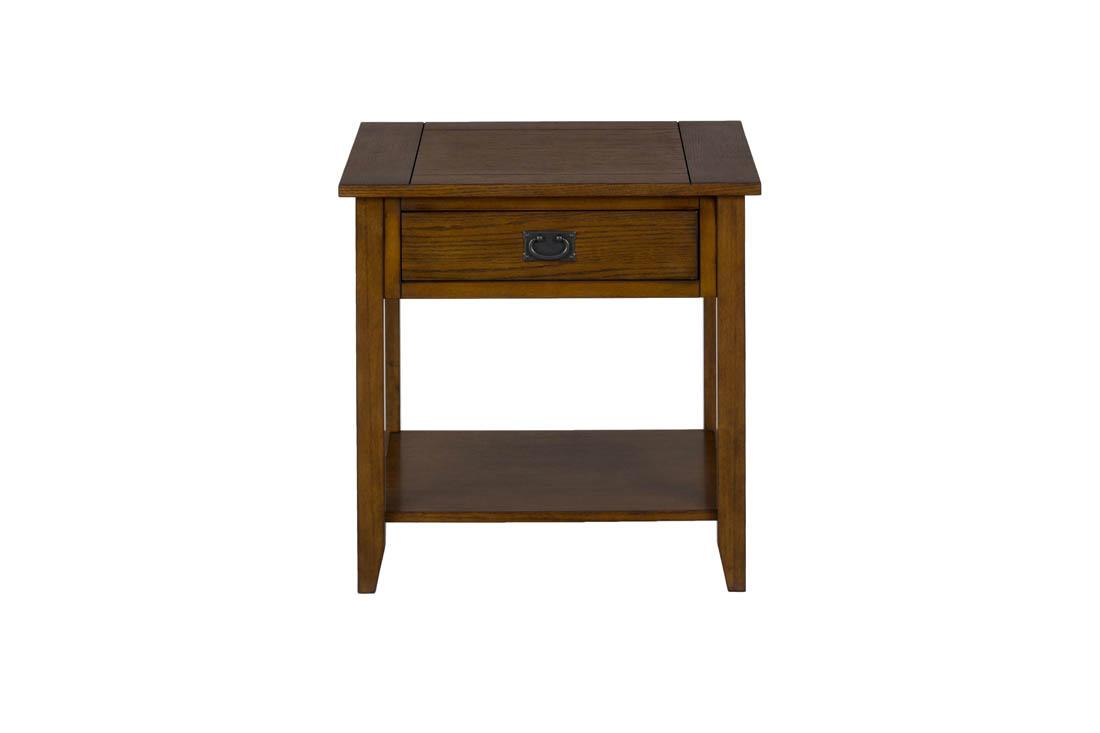 Mission Oak End Table   [1032 3]