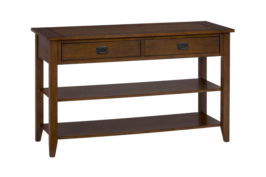 Mission oak sofa table custom handcrafted