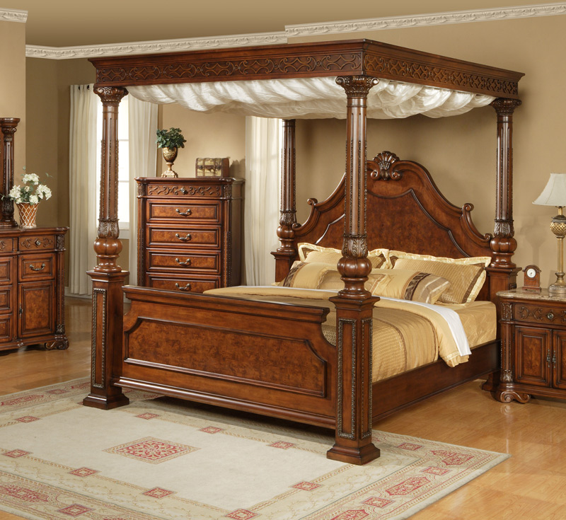 canopy bedroom set Canopy King Bedroom Sets  Montana Complete Inspiration