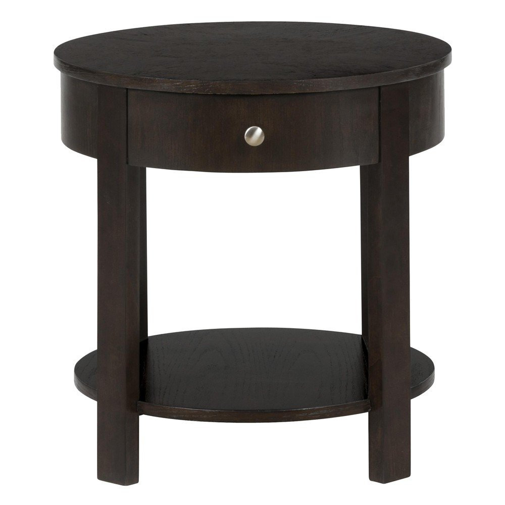 Round End Table : Parker Oak Round End Table - [430-3] : Decor South