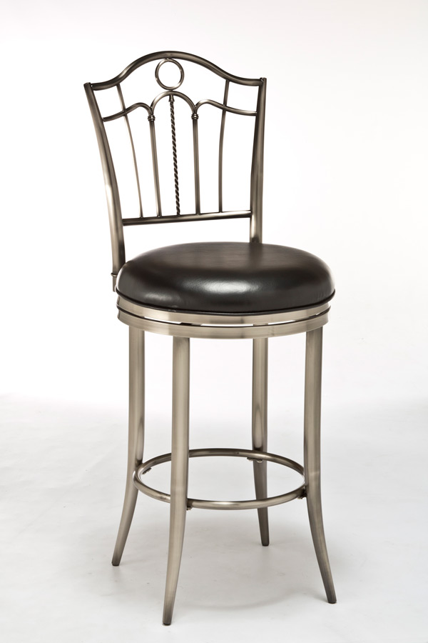 Portland Swivel Counter Stool Antique Pewter Finish  : portland swivel counter stool antique pewter 1 from www.decorsouth.com size 600 x 900 jpeg 63kB