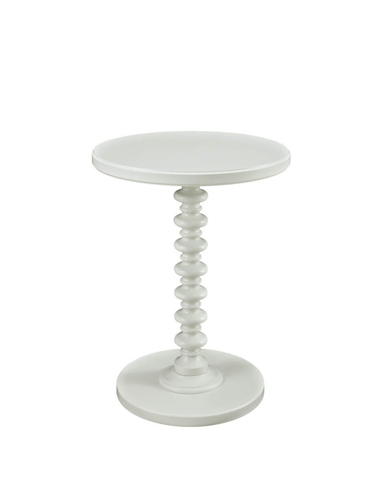 Round Spindle Table White 929 269 Decor South