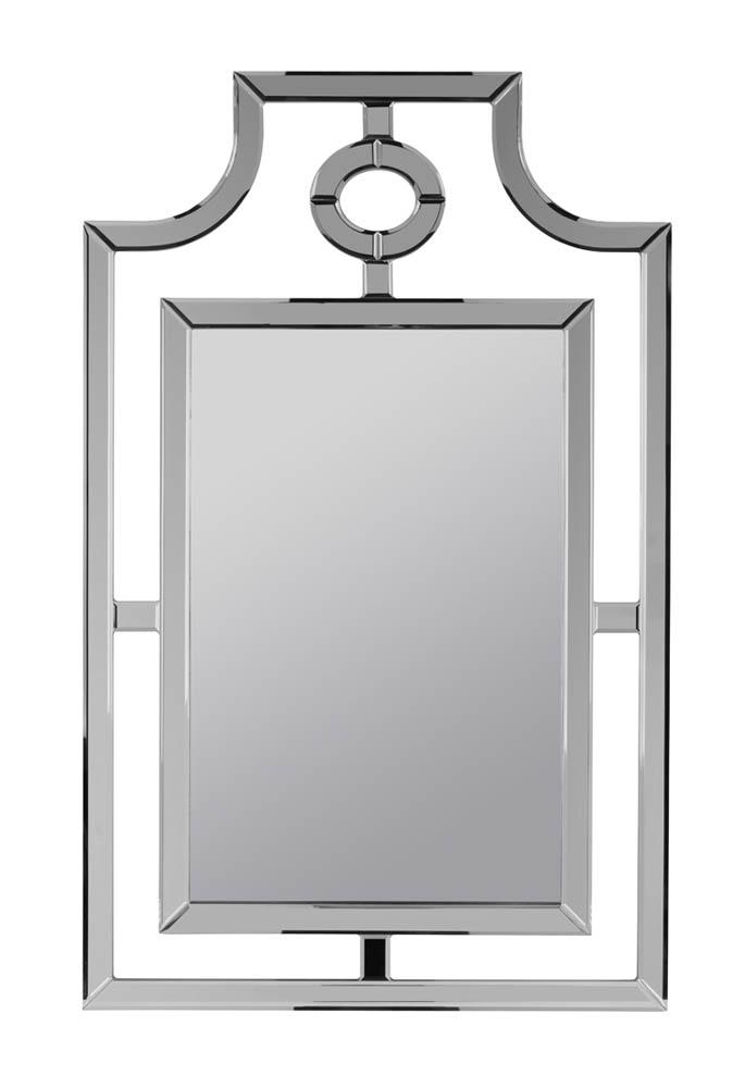30 x 48 mirror bevelled glass silverson mirror frameless 30 48 40455 decor south