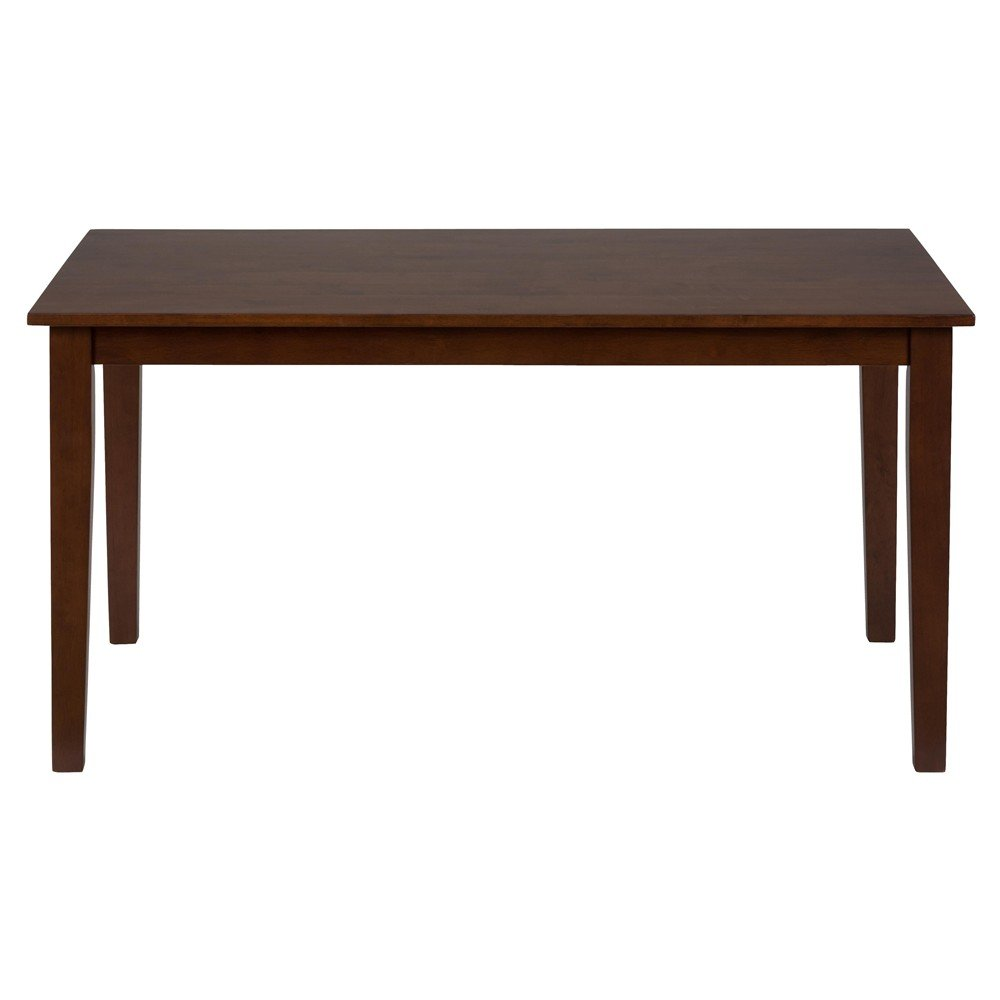 Simplicity rectangle dining table 452 60 decor south for Rectangle dining table