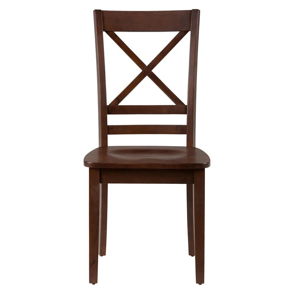 "Simplicity ""X"" Back Dining Room And Kitchen Side Chair"