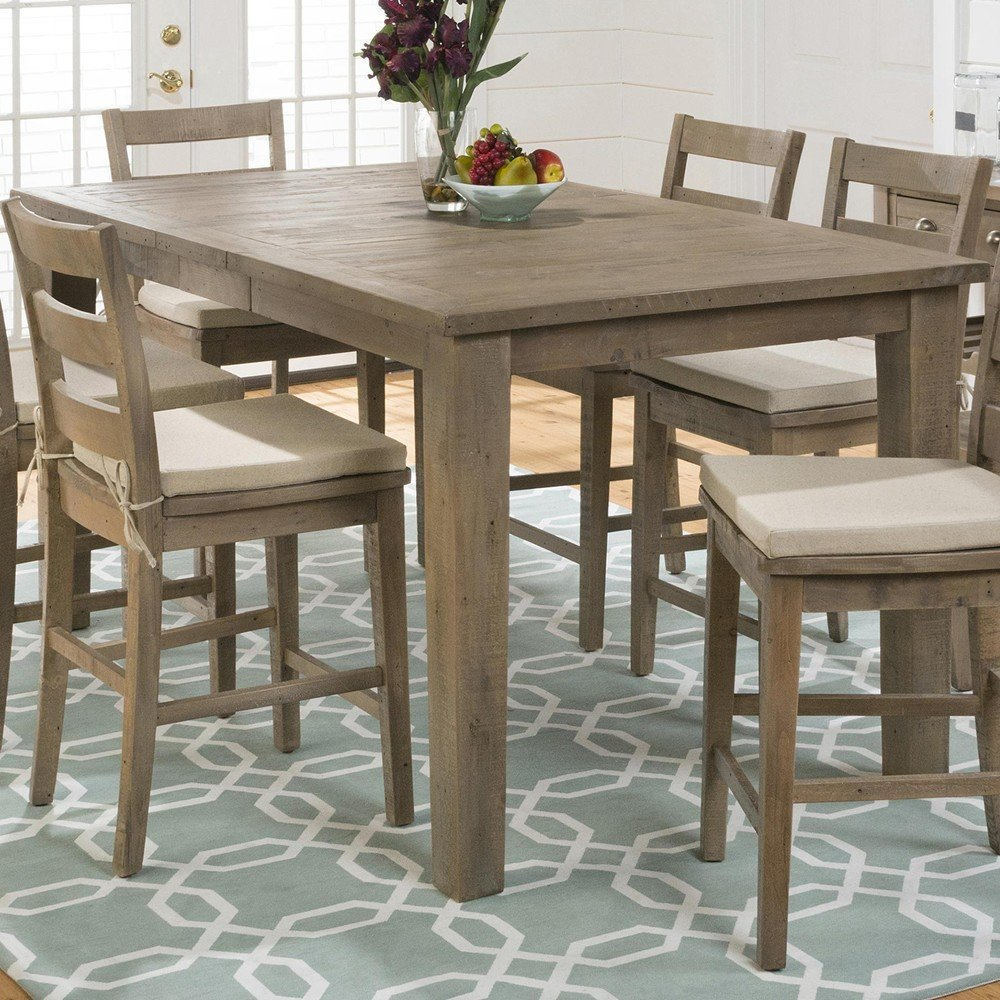 Counter Height Reclaimed Wood Table : Slater Mill Pine Reclaimed Pine Counter Height Table - [941-42 ...