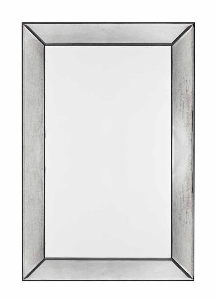 Tompkins Mirror Frameless Mirror With Antique Glass 26