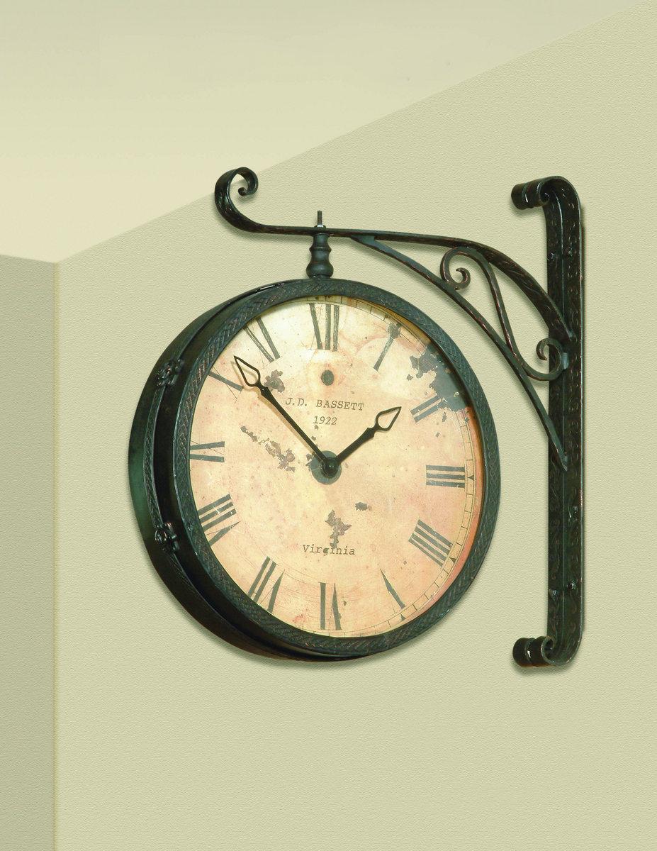 Victorian Rr Clock Black Amp Copper Rub Finish M2271ec